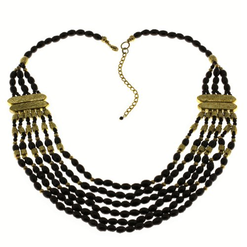 Party Black Necklace Fashion Handcrafted Costume Jewelry from India