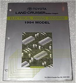 1994 toyota land cruiser wiring diagram 1994 toyota land cruiser electrical wiring diagram (fzj80 ... #2