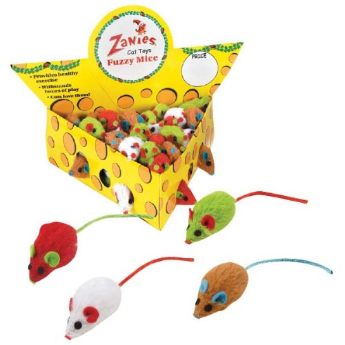 Zanies 60-Piece Cheese Wedge Display Set for Cat