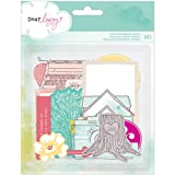 Dear Lizzy 5th & Frolic Chipboard Shapes 20/Pkg-