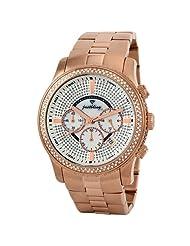 "JBW-Just Bling Men's JB-6230-A ""Vanquish"" 2.50 Carat Chronograph Diamond Watch"