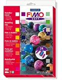 Staedtler Fimo Soft 8023 02 Oven Hardening Modelling Clay 24 x 25g Half Blocks - Assorted Colours