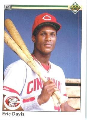 1990 Upper Deck # 116 Eric Davis Cincinnati Reds - MLB Baseball Trading Card