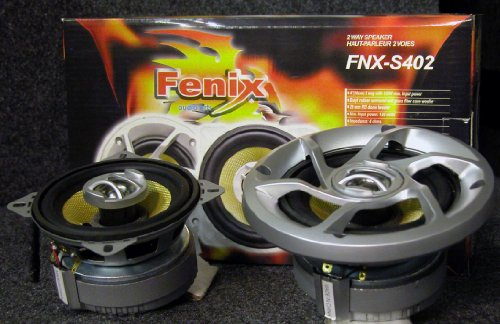 "Fenix Fnx-S402 4"" 2-Way Car Audio Speaker"