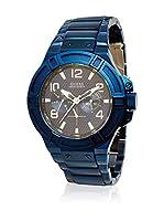 Guess Reloj de cuarzo Man W0218G4 Azul 45 mm