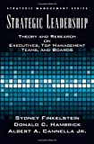 img - for Strategic Leadership: Theory and Research on Executives, Top Management Teams, and Boards (Strategic Management) book / textbook / text book
