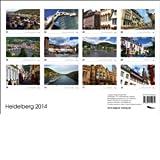 Heidelberg 2014 calendario de pared DIN A3 español/inglés