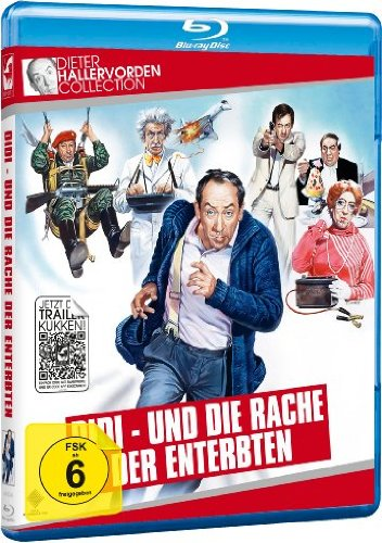 Didi und die Rache der Enterbten - Dieter Hallervorden Collection [Blu-ray]