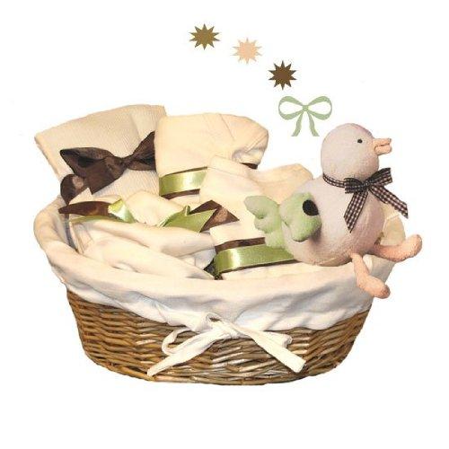 Tumbleweed Babies 1560000 Luxury Organic Baby Gift Basket