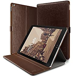 iPad Pro Case, Verus [Layered Dandy][Coffee Brown] - [Protective Slots][Magnetic Fastener][Adjustable Kickstand] - For Apple iPad Pro 2015 Devices