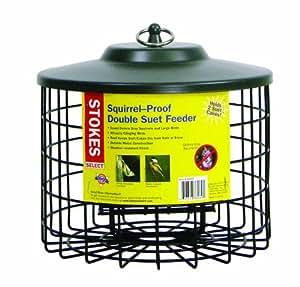 Stokes Select 38069 Squirrel Proof Double Suet Feeder