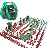 Imported 238pcs/Lot Army Combat Game Toys Soldier Set With Zipper Backpack 3cm