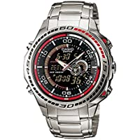 Casio Edifice Stopwatch Analog-Digital Black Dial Men's Watch - EFA-121D-1AVDR (ED263)
