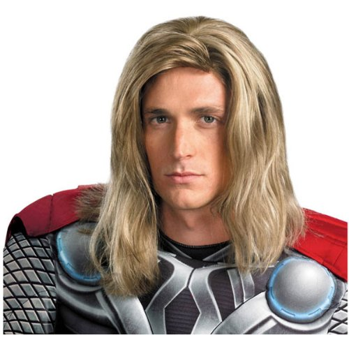 WMU - The Avengers Thor Wig (Adult), Blonde, One-Size