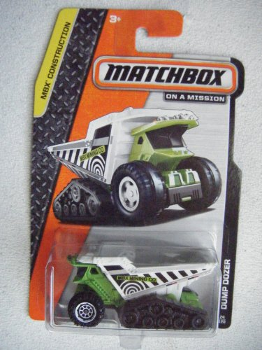 Matchbox on a Mission Construction 24/120 Dump Dozer