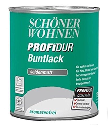 375-ml-Schutz-Farbe-Ral-2510-Papaya-Schner-Wohnen-Profidur-Bunt-Trend-Lack-Dose-seidenmatt-aromatenfrei-innen-auen-Bowatex