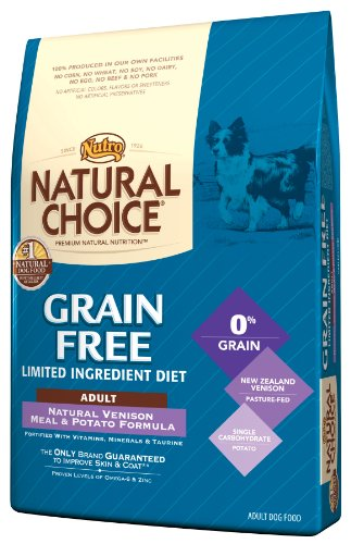 Natural Choice Grain Free Venison Meal and Potato Formula Adult Dog Food, 14-Pound