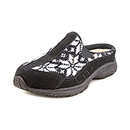 Easy Spirit Traveltime Womens Suede Mules Shoes Size 5.5 M Us