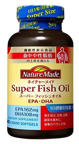 ネイチャーメイド スーパーフィッシュオイル(EPA/DHA) 90粒 [機能性表示食品]