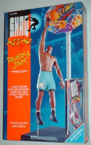 SHAQ ATTAQ Shaquille O'Neal Reverse Jam Kenner Headliners Collection