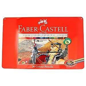 ファーバーカステル 油性色鉛筆 平缶 36色セット TFC-CP/36C