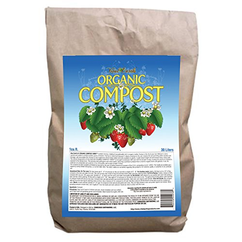 Vital Earth'S Organic Compost O.M.R.I. Fertilizer, 1 Cubic Feet Bag