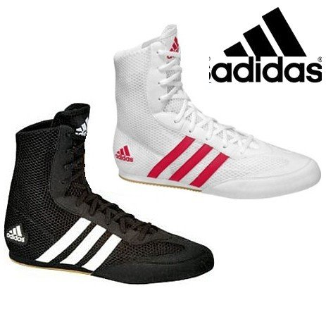 Adidas Hog Adults Boxing Boots , 8 uk, Black [Apparel]