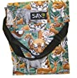 Africa Animals Endangered Lions Elepants Lunch Tote by Broad Bay