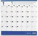 2008卓上カレンダー ブルースケジュール PE-001