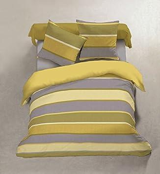 Centpourcentcoton   Parure drap plat 220X290 CM +drap housse