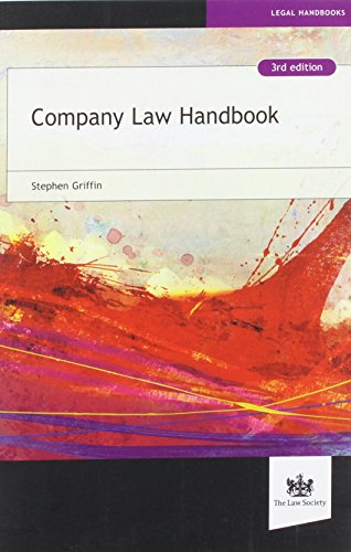 Company Law Handbook, by Stephen Griffin