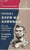 img - for Herndon's Life of Lincoln book / textbook / text book