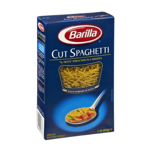 Barilla Cut Spaghetti Pasta, 16 Oz. Boxes (Pack of 2) (Pasta Spaghetti Box compare prices)