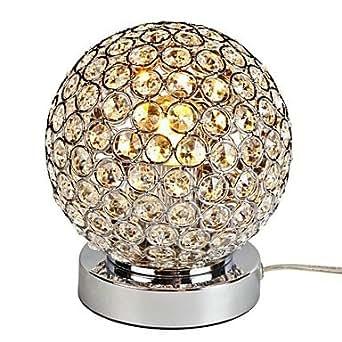 Makenier piccole lampade da tavolo di cristallo comodino for Lampade piccole da tavolo