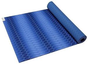Amazon Com Gaiam Sol Soft Grip Yoga Mat 4mm Natural