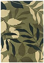 Big Sale Rizzy Home PR0273 Pandora 9-Feet by 12-Feet Area Rug, Green
