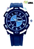 V-Luma Black Sports Men' s Watch VL22