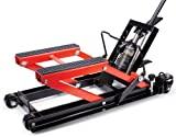 Powerzone 380047 1700 lbs Hydraulic Motorcycle and ATV Jack