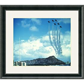 F-16 Thunderbirds Framed Art Print