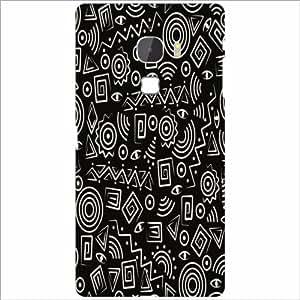 Letv Le Max Back Cover - Black Signs Designer Cases