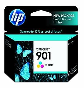 HP 901 (CC656AN) Tri-color Original Ink Cartridge