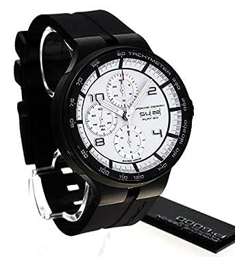 Porsche Design Flat Six Automatic Chronograph PVD Coated Steel Mens Watch Calendar 6360.43.64.1254