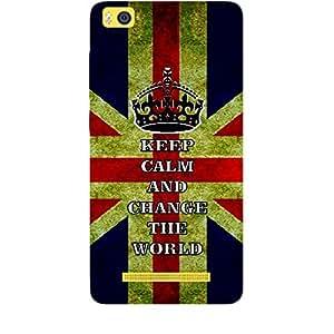 Skin4gadgets Keep Calm and CHANGE THE WORLD - Colour - UK Flag Phone Skin for XIAOMI MI4I