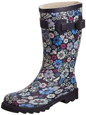 Animal Womens Lash Wellington Boots FM3WC414 - 005 - 03A Navy 3 UK, 35.5 EU