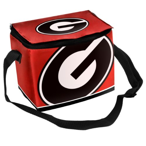 Lunch Box Ncaa Georgia Bulldogs Big Logo Team Lunch Bag