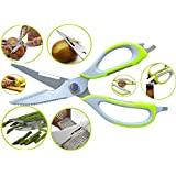 House Of Quirk Kitchen Shears Heavy Duty & Come-Apart For Kitchen Accessories, Kitchen Scissors Best Shear Of...