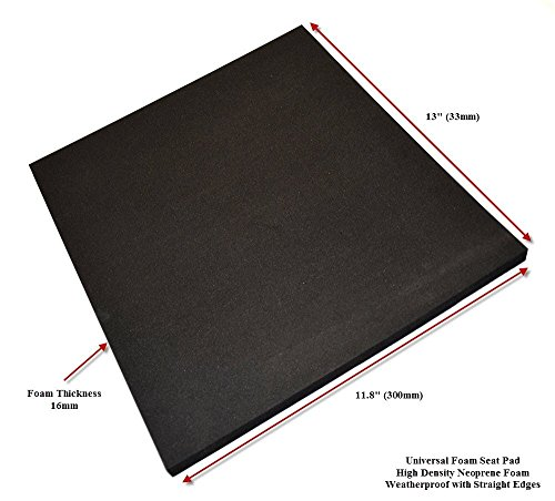 Universal Motorcycle Race Seat Pad for Track Use High Density Foam (5) (Seat Track compare prices)