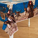 Pirates of the Caribbean 4 - Plastic Tablecover Party Supplies