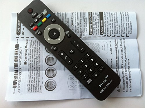 New Generic Universal Philips Tv Remote Fit For Almost 99% Philips Brand Lcd Led Tv---Sold By Parts-Outlet Store