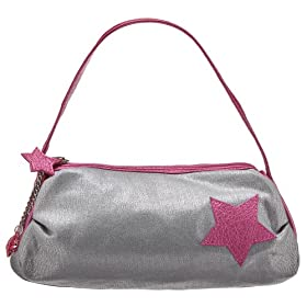 Xhilaration® Star Patch Handbag - Silver